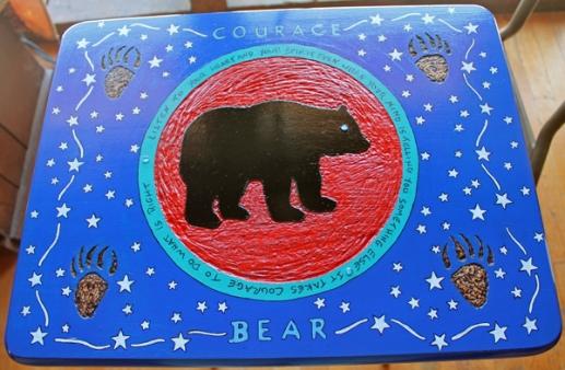 bev's bear table