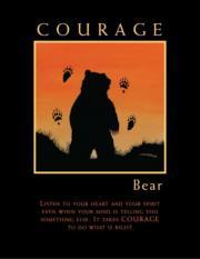 COURAGE BEAR