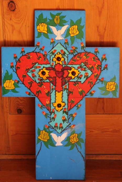 psychedelic cross