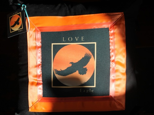 sunlit love pillow