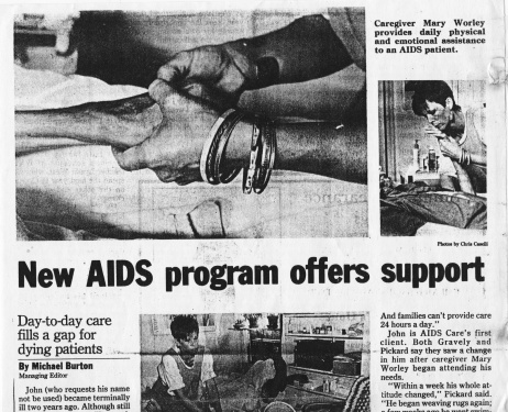 aids article:mary