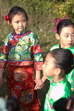 cute chines kids