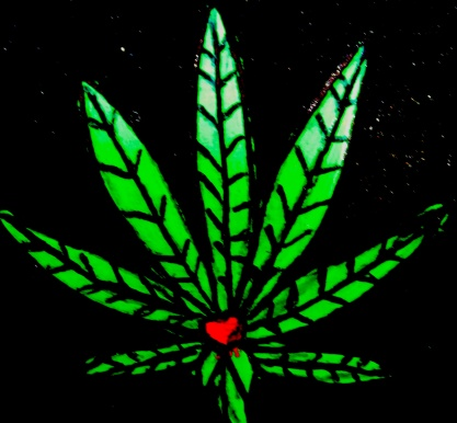 marijuana leaf 2