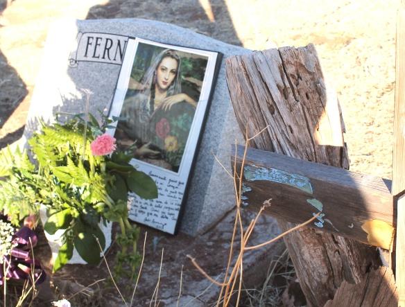 mac's grave:poster close