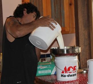 jody pouring