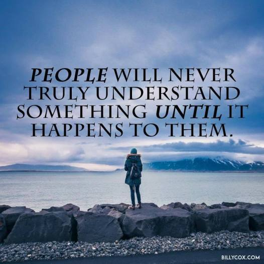 people will never