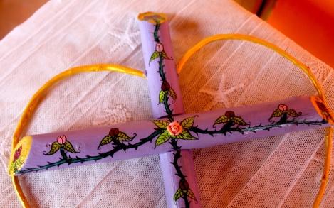 purple cross small:detail