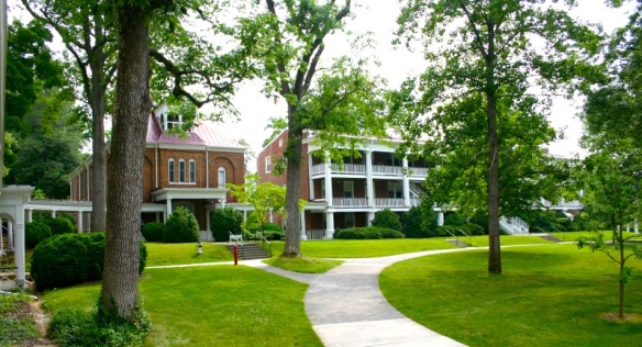 Front Quadrangle (Bradley Hall and East Building), Hollins University
