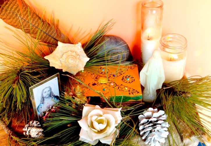 christmas altar 17